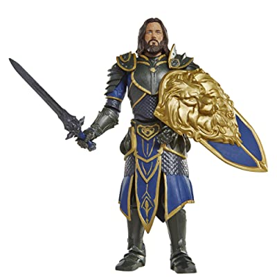 "Warcraft 6"" Lothar action Figure With Accessory: Toys & Games"