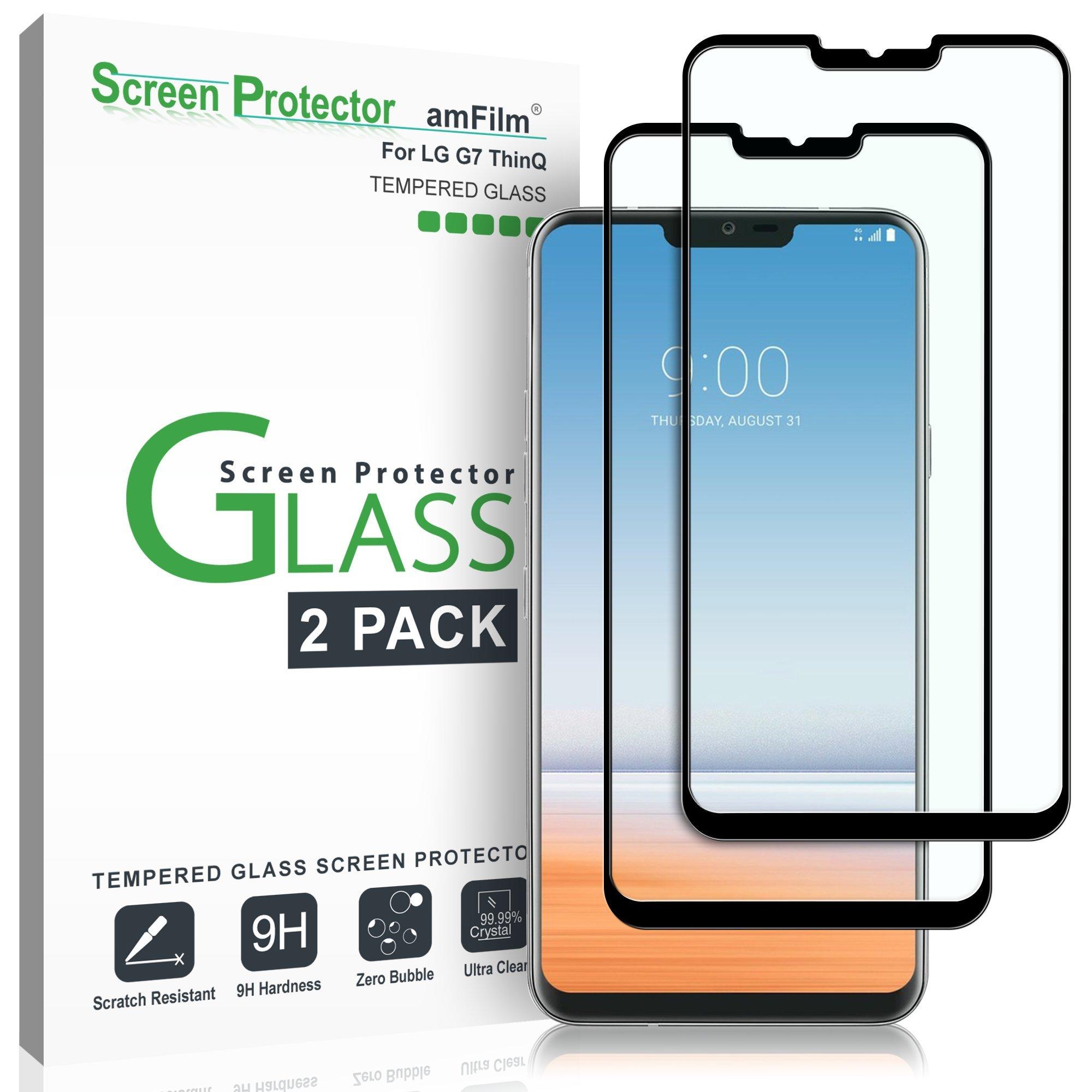 High Sensitivity Tempered Glass amFilm Glass Screen Protector for Google Pixel 2 Dot Matrix