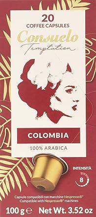 Consuelo - Cápsulas de café de Colombia compatibles con cafetera ...