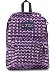 JanSport Superbreak Backpack- Sale Colors (Urban Optical Purple)