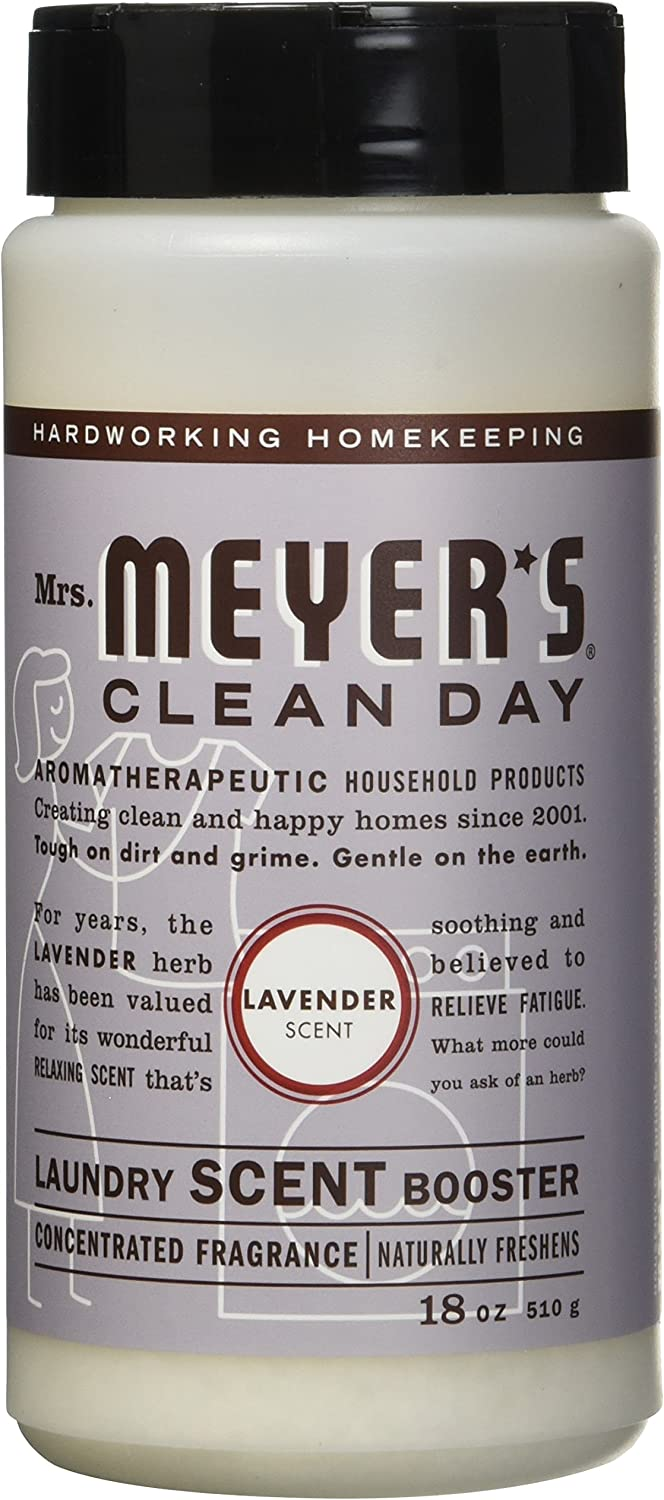 Mrs. Meyer's Clean Day Laundry Scent Booster, Lavender, 18 oz, 2 ct