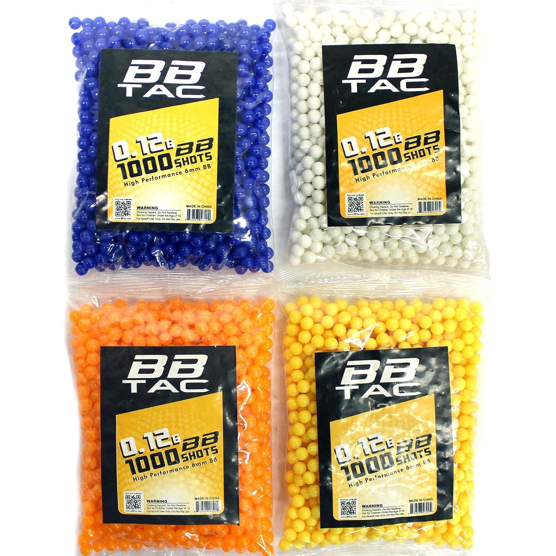 amazon com bbtac 1000 bag 12g 6mm bbs for airsoft guns sports
