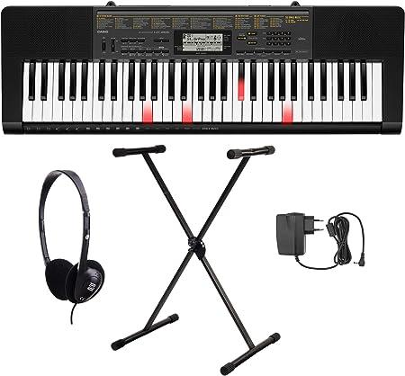 Casio LK 265 Bombilla teclas Juego de teclado (61 teclas, 32 ...