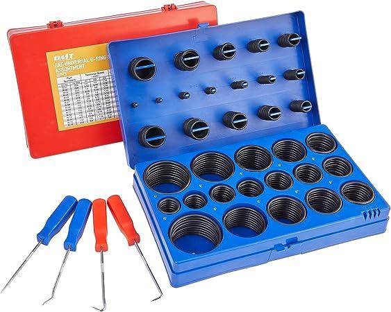 407 pcs SAE O-Rings and 419 pcs Metric O-Rings MCIGICM 826pcs O Ring Assortment