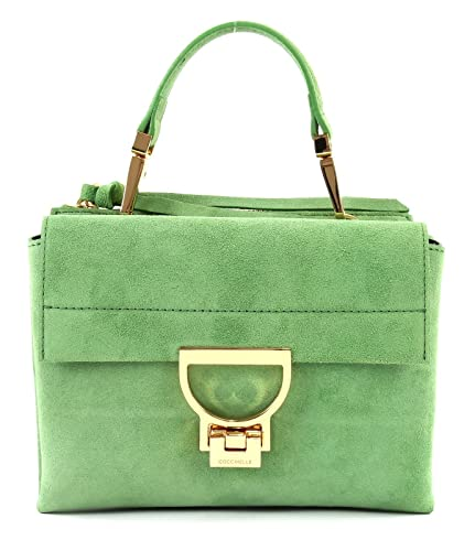 87cd7ce282be Coccinelle Arlettis Suede Shoulder Bag green  Amazon.co.uk  Shoes   Bags
