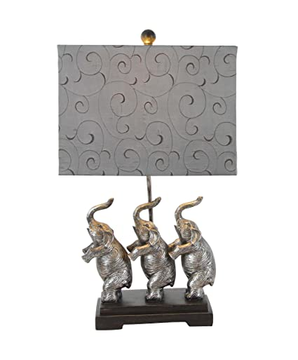 Polystone Elephant Table Lamp 24u0026quot ...