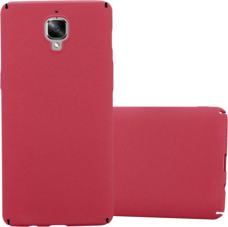 Cadorabo Funda para OnePlus 3 / 3T en Frosty Rojo – Cubierta Protección de Plástico Duro Super Delgada e Inflexible con Antichoque – Case Cover Carcasa Protectora Ligera: Amazon.es: Electrónica