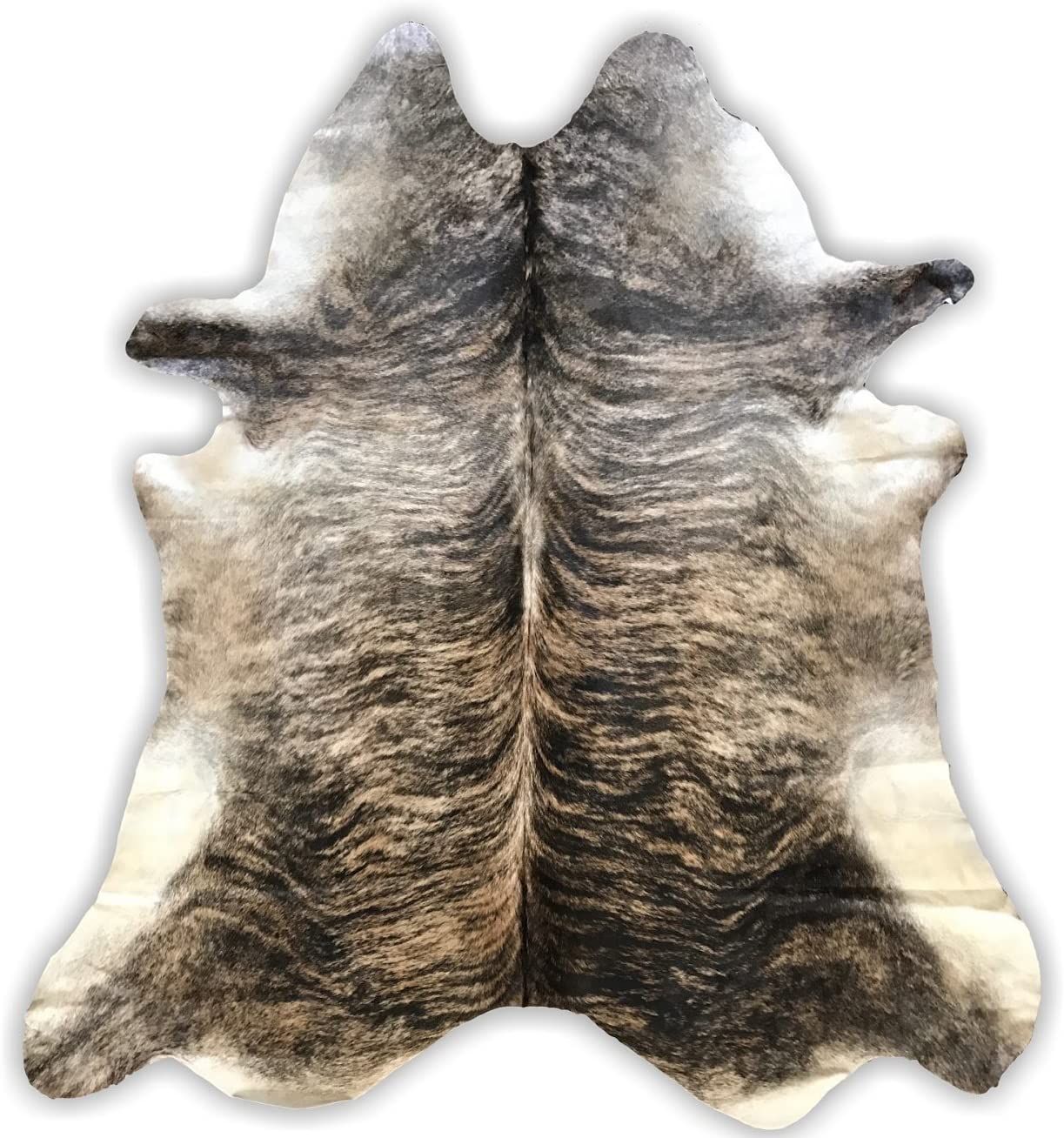 Light Brindle Cowhide Rug Cowhide Area Rugs by Crown Home Innovations 100 Natural Leather Rugs Light Brindle 6 x7
