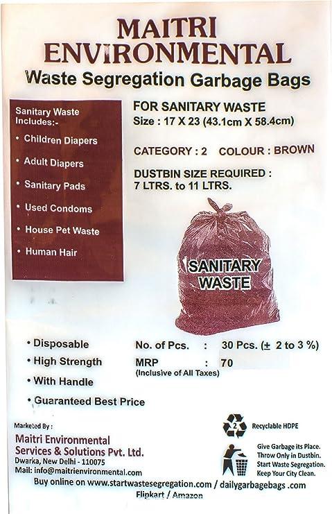 8c040b37c01a MAITRI Sanitary Waste Garbage Bags