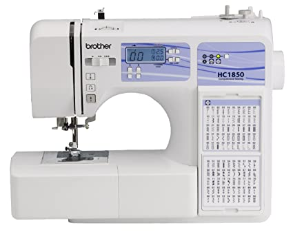 Amazon Brother Computerized Sewing And Quilting Machine HC40 Mesmerizing Brother Sewing Machine Table