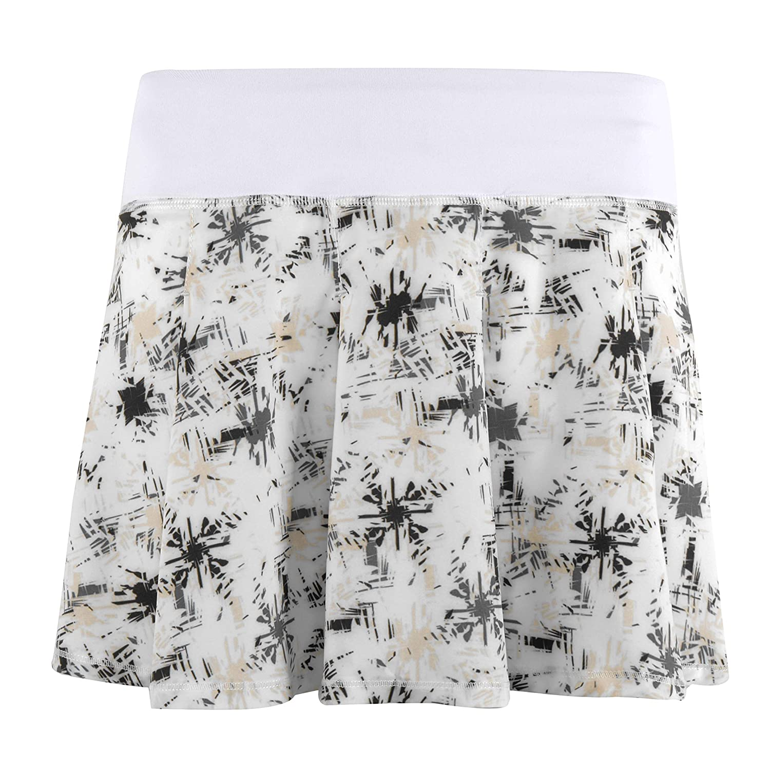 Cityoung SKIRT レディース Large Printed White B07GPN7KMD