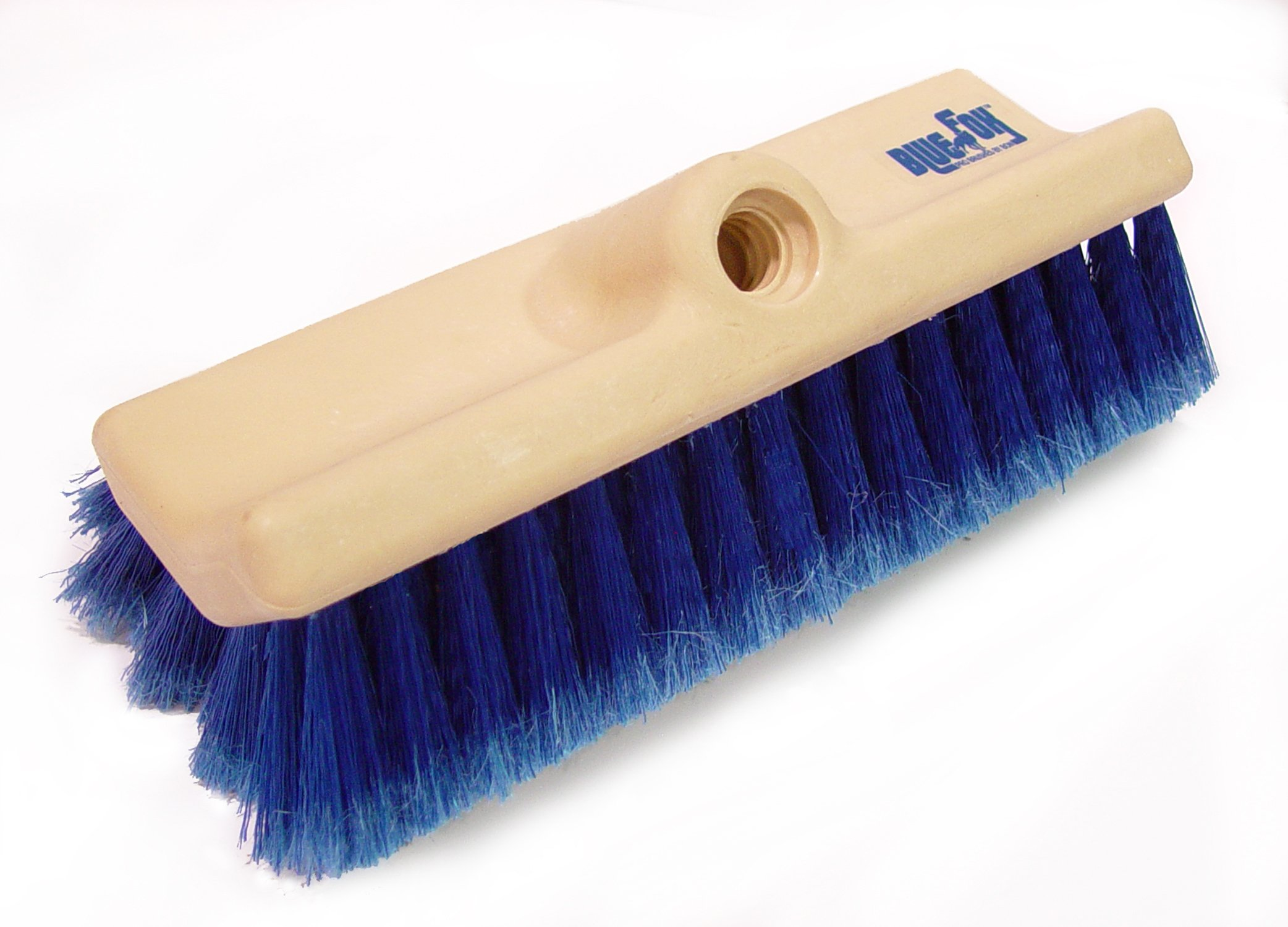 Bon 84-956 Blue Fox Dual Angle Wash Brush, 10-Inch Length by 2-Inch Trim
