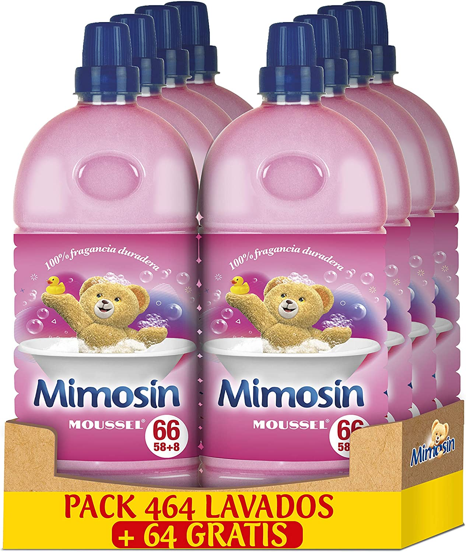 Mimosin Concentrado Suavizante Moussel 66lav x 8botellas