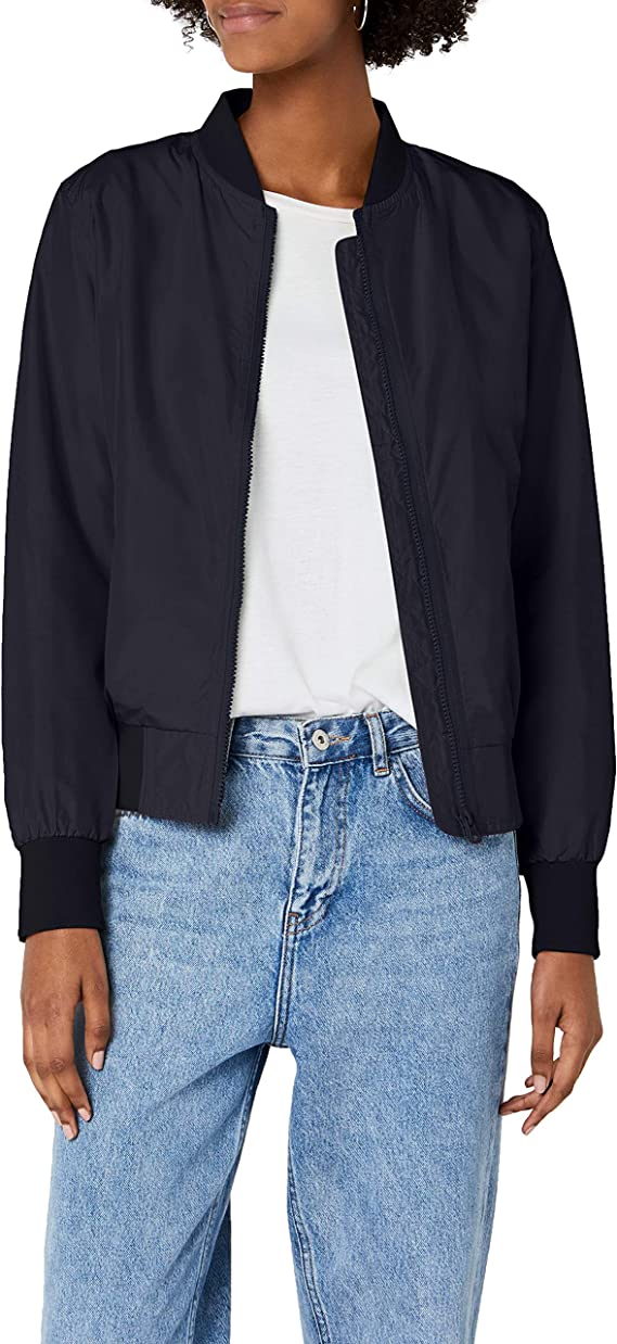 TALLA L. Urban Classics Ladies Light Bomber Jacket - Chaqueta Mujer