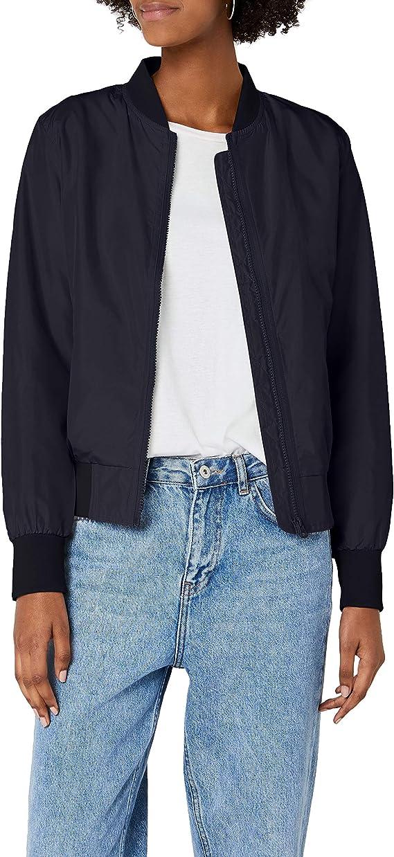 TALLA L. Urban Classics Ladies Light Bomber Jacket - Chaqueta Mujer