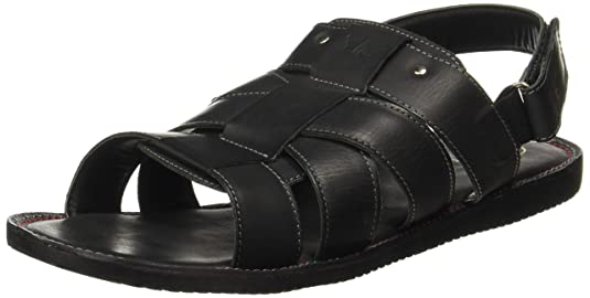 Red Tape Men's Leather Sandals Sandals & Floaters at amazon