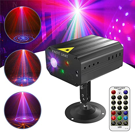 Luces de alcohol, luces de discoteca, proyector para escenario LED ...