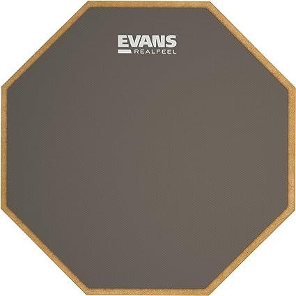 Single//Double//Kick FREE DrumSticks! Evans Real Feel Practice Pad Deal