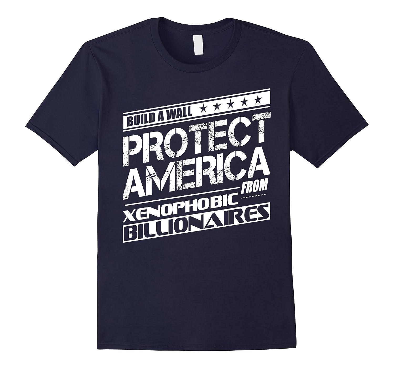 Build a Wall Ironic Anti-Trump Funny Shirt-BN