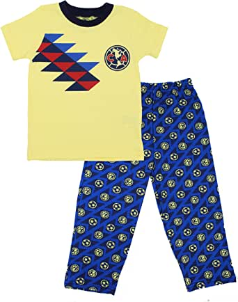 Pijama America Futbol Conjunto de 2 Piezas Pants Pans Playera Original Ropa de Bebé Niño
