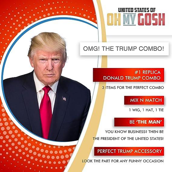 United States of Oh My Gosh Traje y Peluca de Donald Trump ...