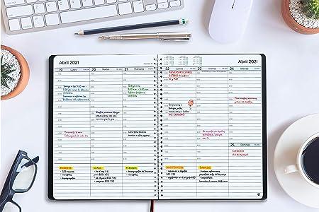 Agenda 2020 2021 con Vista Semanal – Planificador 2020 2021 Semana ...