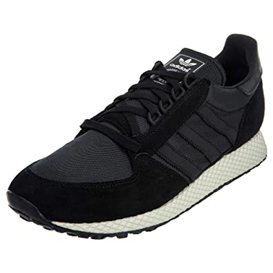 best authentic 286a6 28d03 Amazon.com  adidas Mens Forest Grove Sneaker Core Black  Run