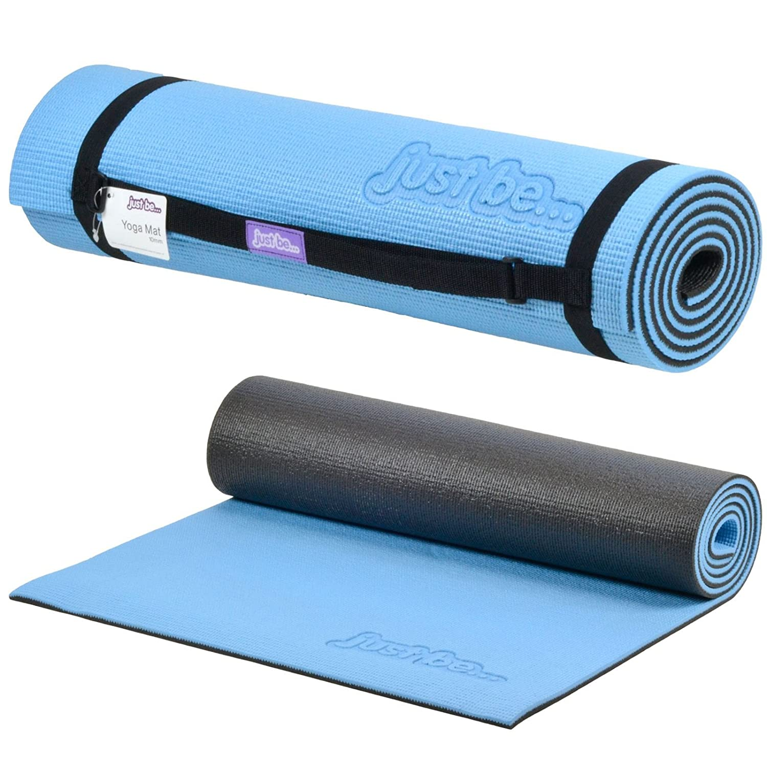 Amazon.com : just be... 180cm x 60cm x 10mm 2-Tone Yoga ...