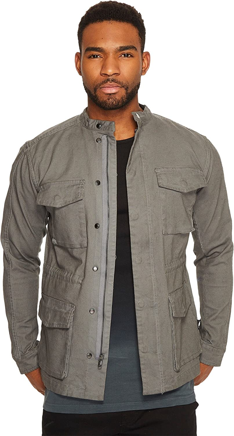 Amazon.com: Publish Denzel Cargo M-65 Jacket Grey XL: Clothing