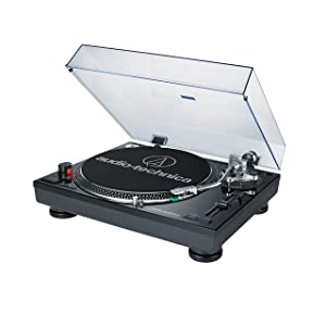 Audio Technica AT-LP120BK-USB Direct-Drive Professional Turntables