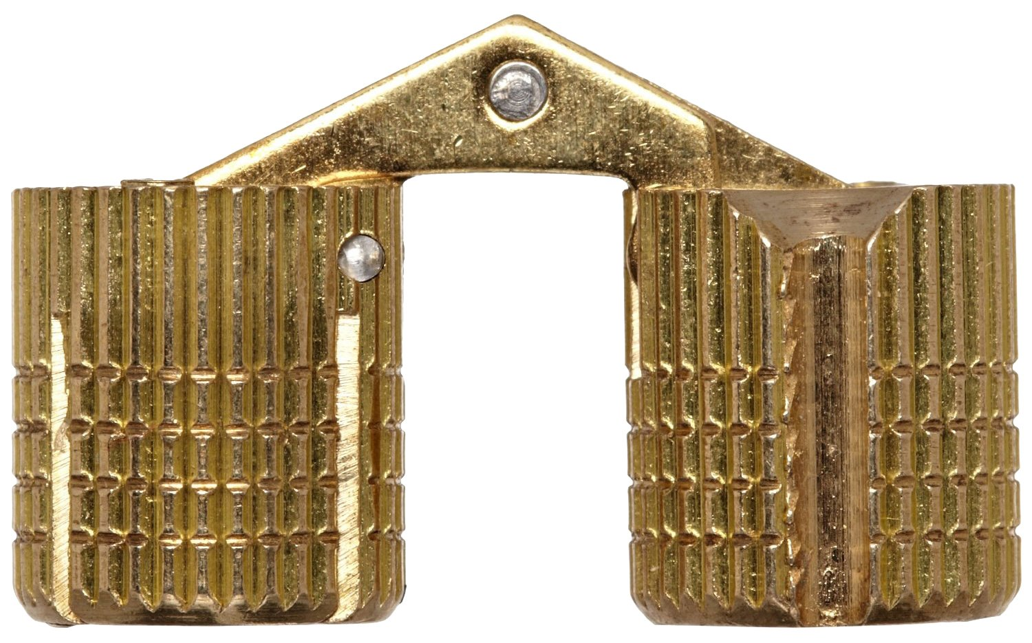 13.5mm Mortise Depth Pack of 24 5//8 Door Thickness Solid Brass Satin Brass Finish SOSS Mortise Mount Invisible Barrel Hinge 12mm Diameter