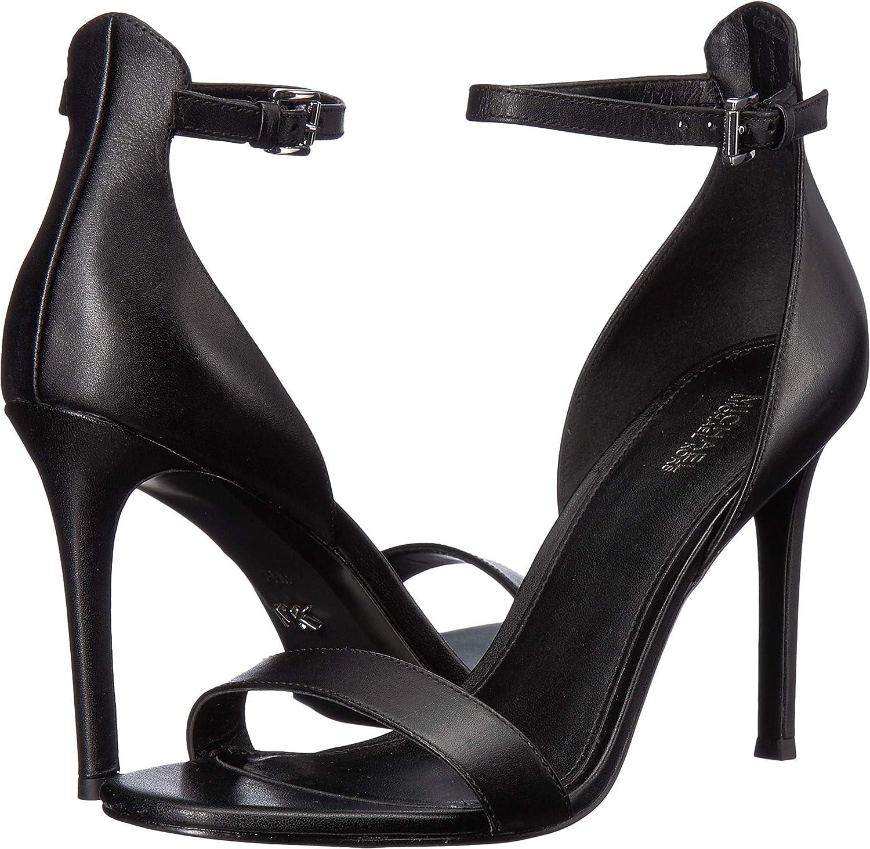 6e784fd0cfa Amazon.com   Michael Michael Kors Women's Harper Sandal   Heeled Sandals