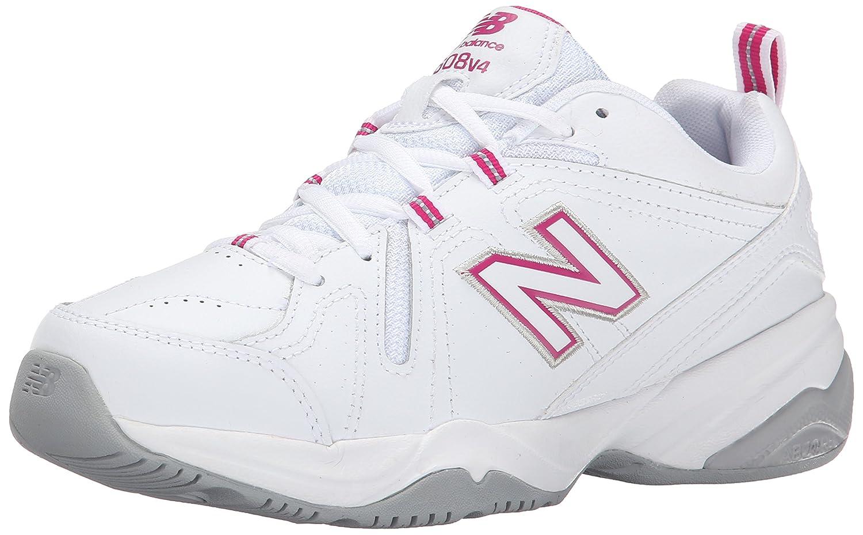 New Balance 608 B00IY95DG0 9 D US|White/Pink
