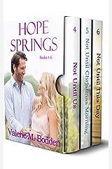 Hope Springs Books 4-6: A Christian Romance Box Set (Hope Springs Box Sets Book 2) Kindle Edition