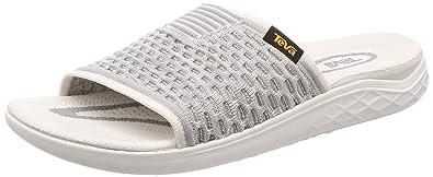 6944149c5fac Teva Men s Terra-Float 2 Knit Slide Bright White 8 ...