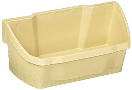 Amazon 7 78 Wide Polymer Door Storage Trays Almond