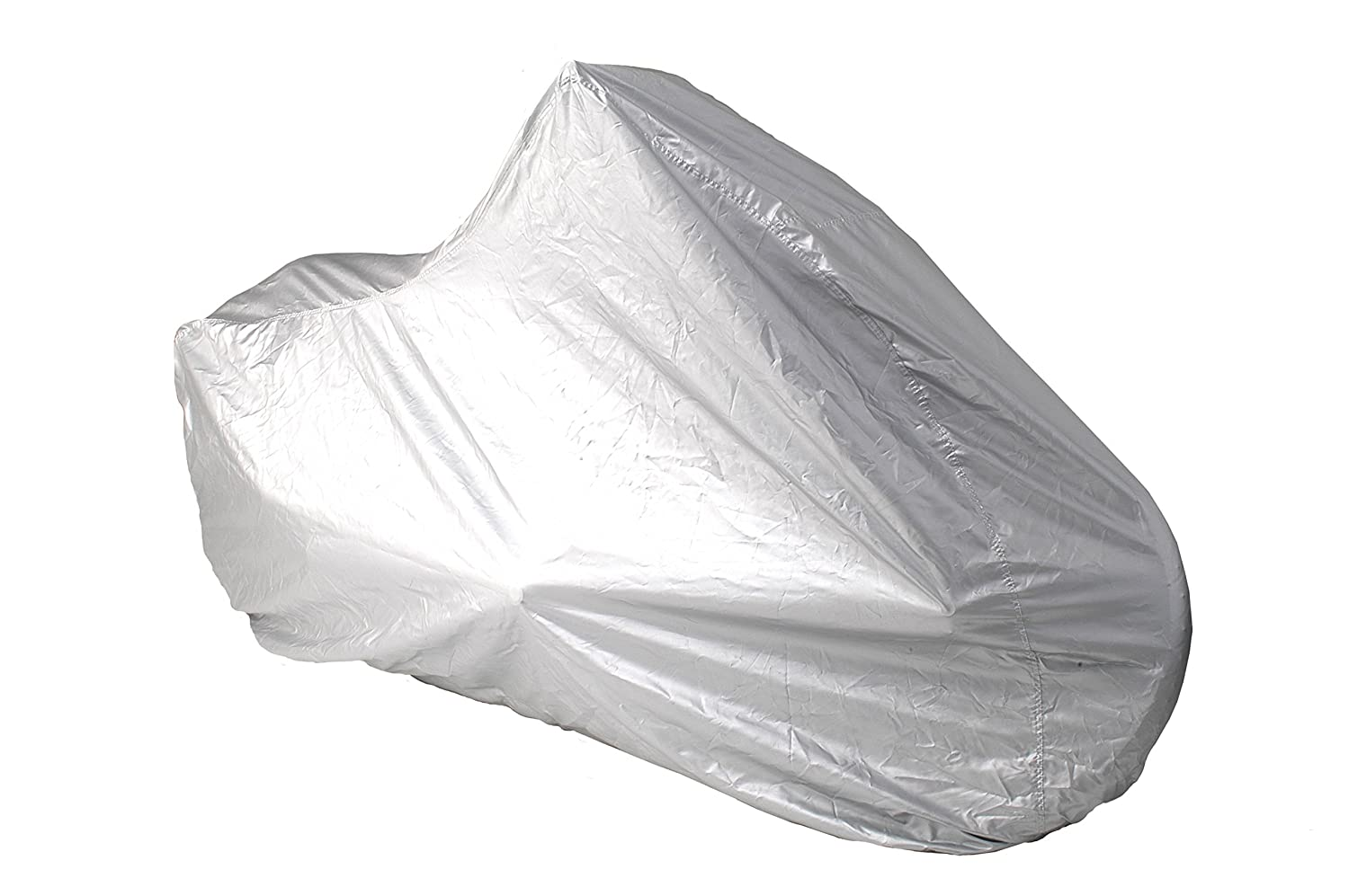 Coverking//MODA UMXFDCRE62 Universal Fit Full All-Weather Waterproof Dress Motorcycle Cover Silverguard