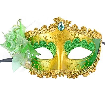 Amazon.com: Funpa Costume Party Mask Venetian Princess ...