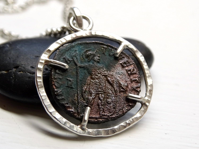 Ancient Roman BRONZE Coin Necklace Pendant Jewelry  Original Ancient Roman Coin
