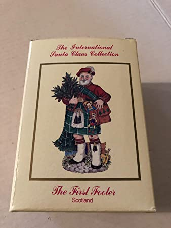 International Santa Claus Collection Scotland Collectible The First Footer SC27 Christmas Scottish Home Decor