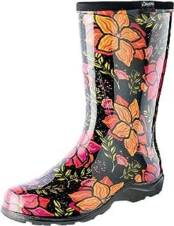 product image for Sloggers 5018SSBK08 5018SSBK07 Spring Surprise Waterproof Boot, 7, Black, 7