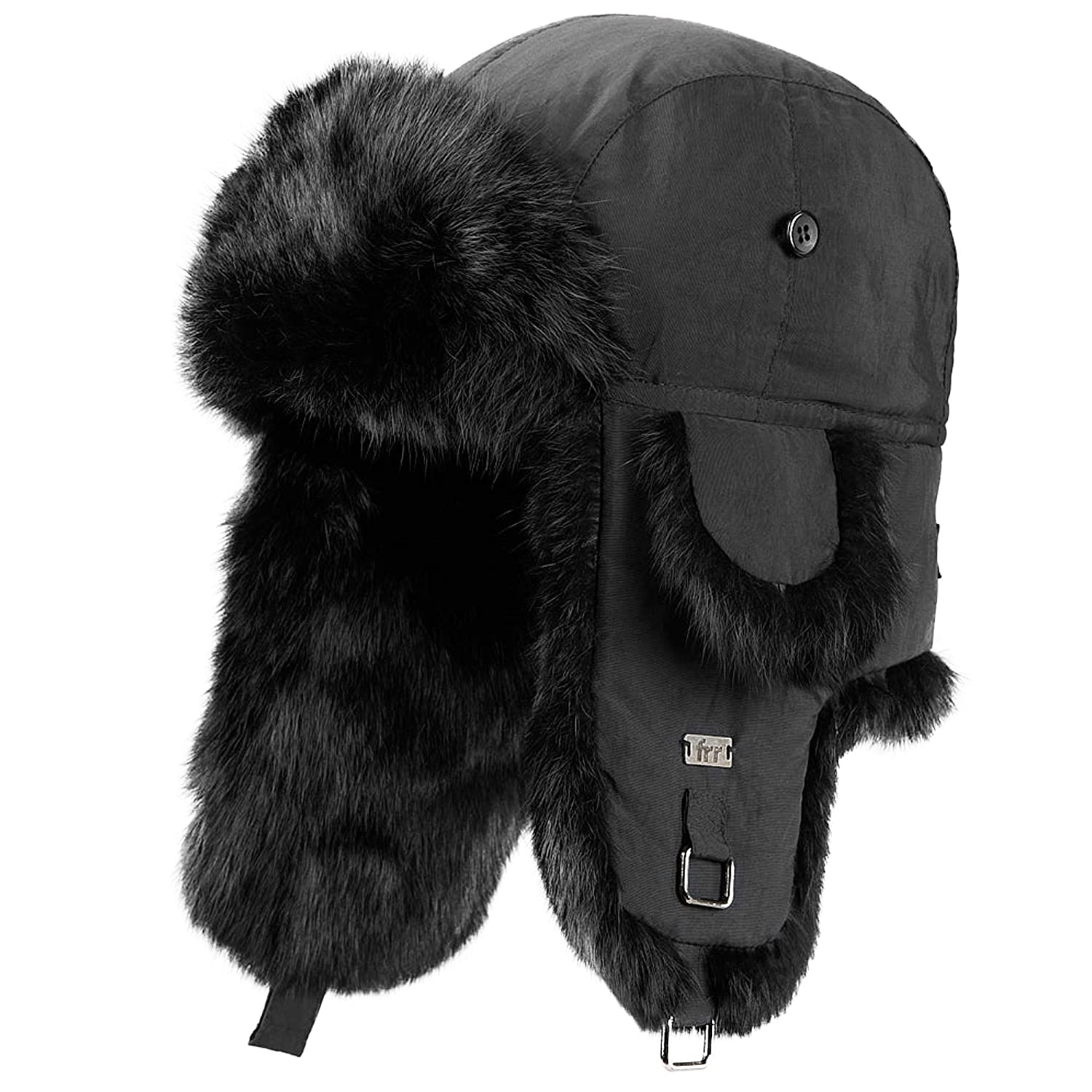 0b596e05fddf48 frr B-52 Aviator Hat with Rabbit Fur at Amazon Men's Clothing store:
