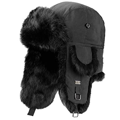 8420879fba369 frr B-52 Aviator Hat with Rabbit Fur at Amazon Men s Clothing store