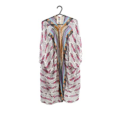 ad6f52b639c36 Image Unavailable. Women Swimwear Tribal Cover Up Kaftan Summer Shirt Dress  Beachwear Bikini Beach