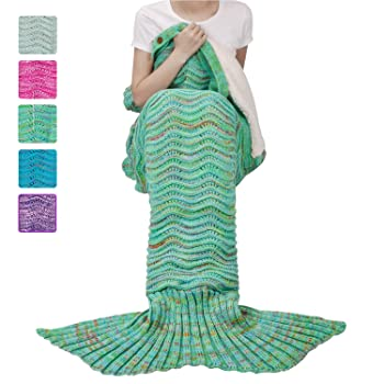 Adult Mermaid Tail Blanket, Super Soft