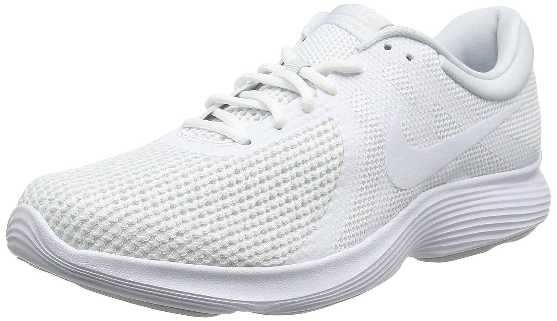 Nike Revolution 4 EU, Zapatillas de Running para Hombre 45.5 EU|Blanco (White/Pure Platinum 100)