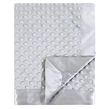Amazon.com  Hudson Baby Dotted Mink Blanket with Satin Binding 938e63bb5