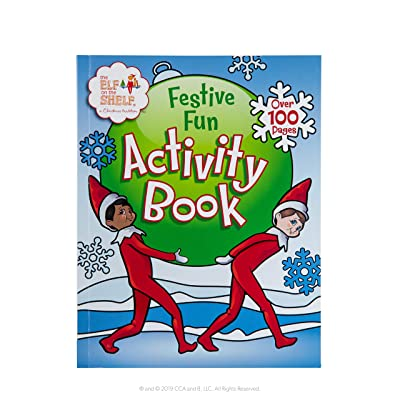 The Elf on the Shelf Festive Fun Activity Book: Toys & Games