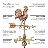 Good Directions Bantam Rooster Weathervane, Pure