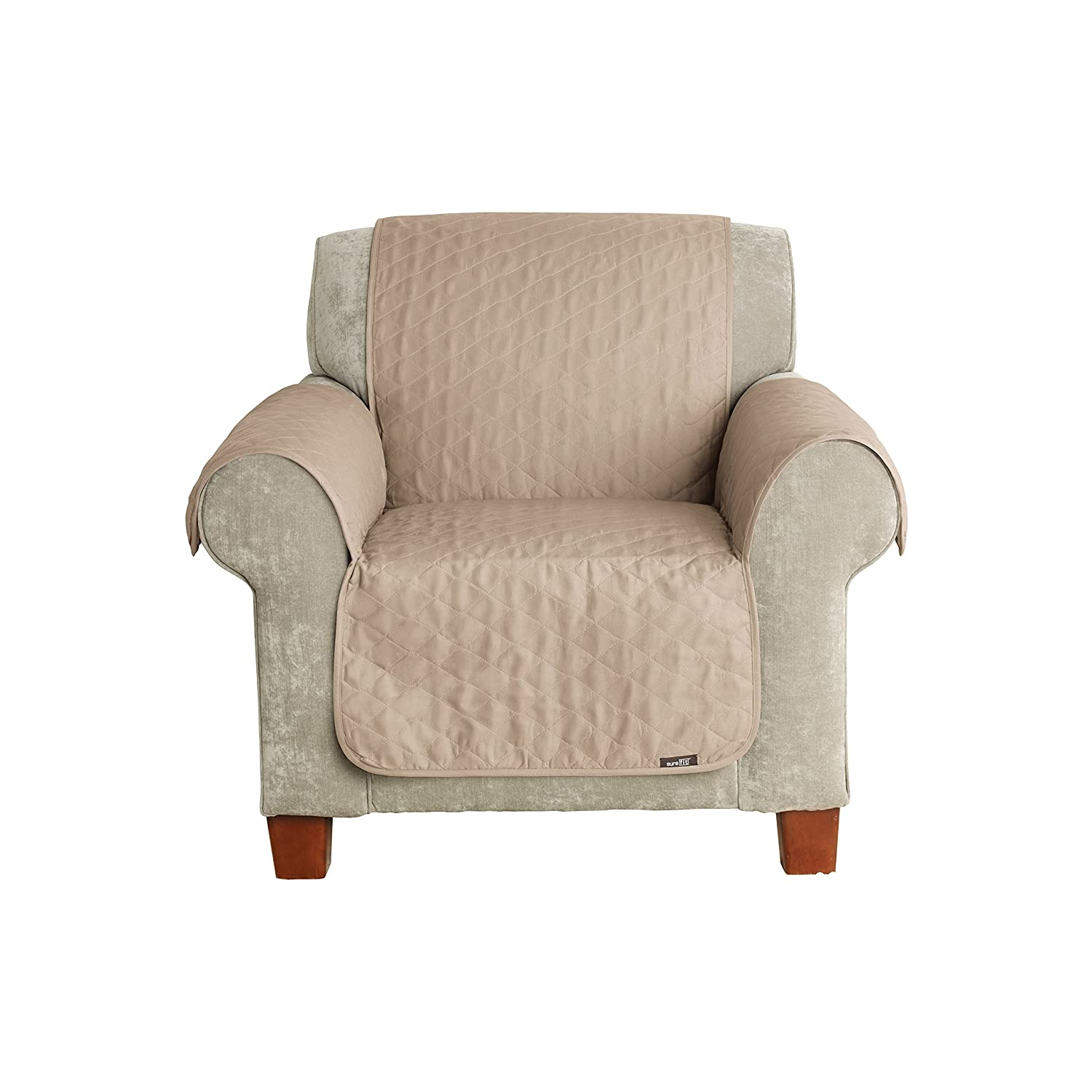 Amazon.com: Sure Fit Furniture Friend Pet Throw   Chair Slipcover   Linen  (SF37505): Home U0026 Kitchen